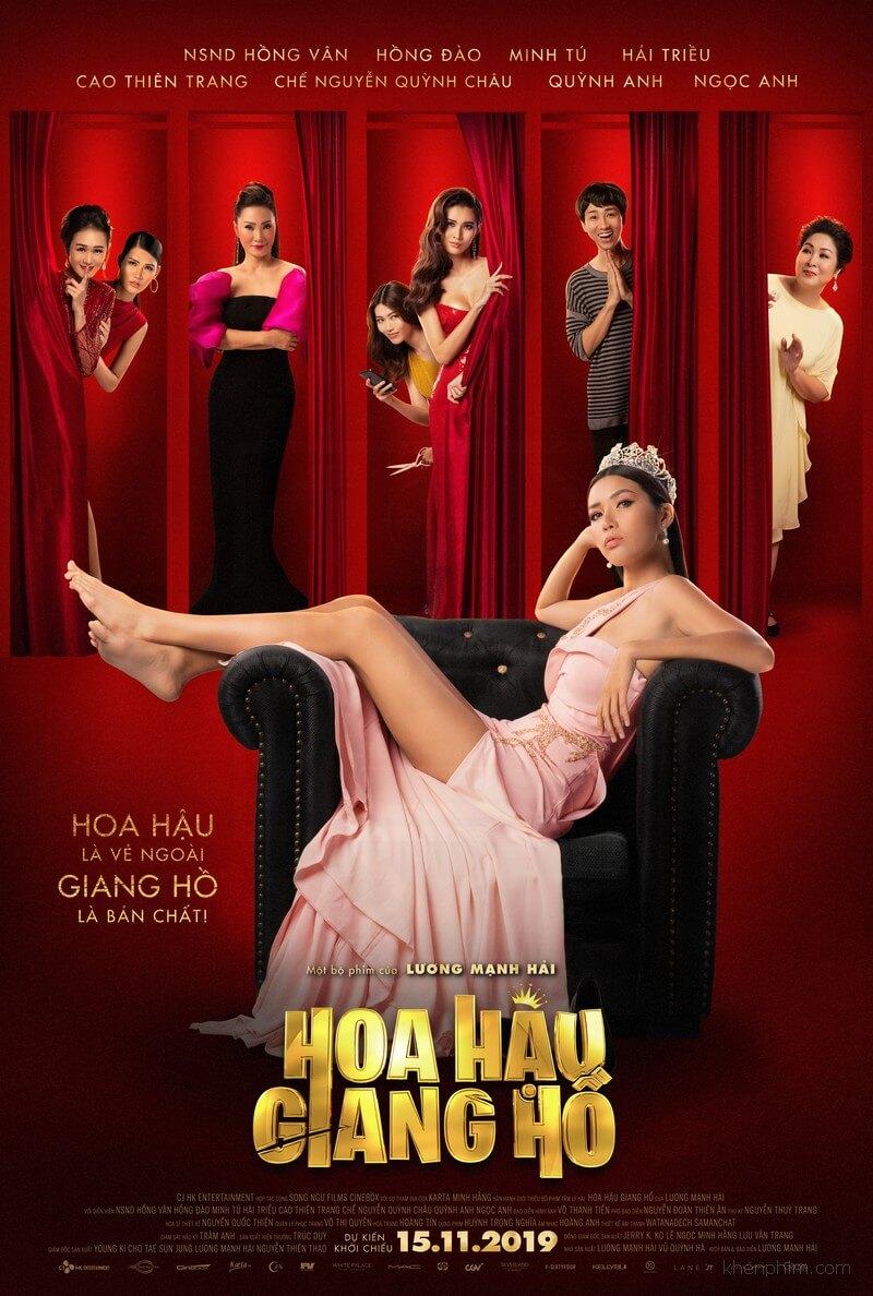 Poster phim Hoa Hậu Giang Hồ