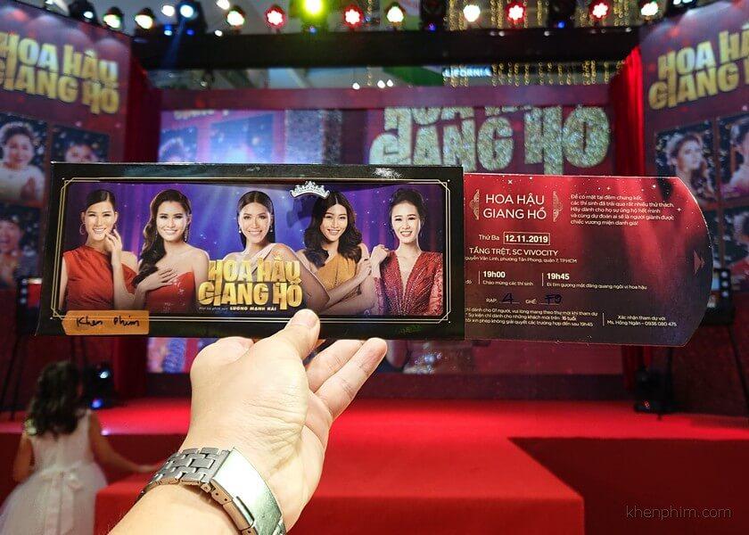 Vé xem phim Hoa Hậu Giang Hồ