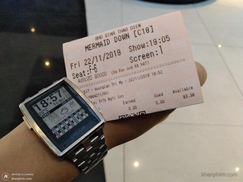 Vé xem phim Người Cá Báo Thù - Mermaid Down
