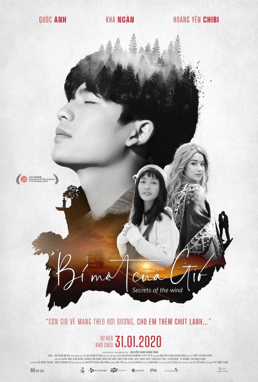 Poster chính thức phim Bí Mật Của Gió