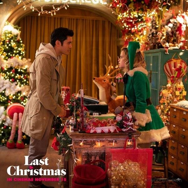 Không khí giáng sinh trong phim Last Christmas