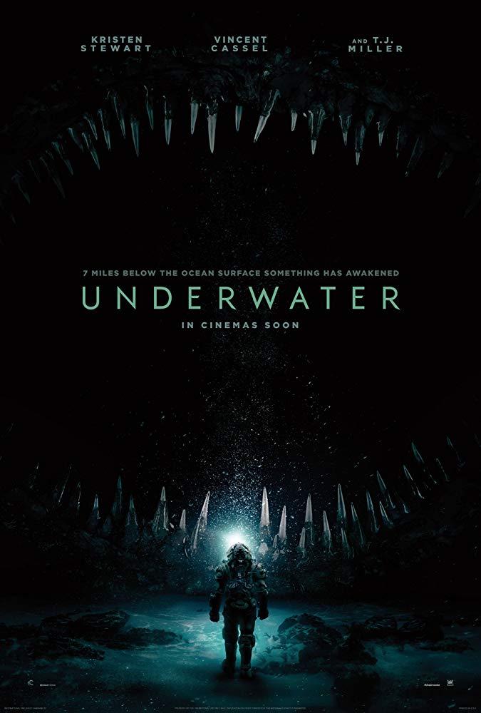 Poster phim Kẻ Săn Mồi Đáy Biển (Underwater)