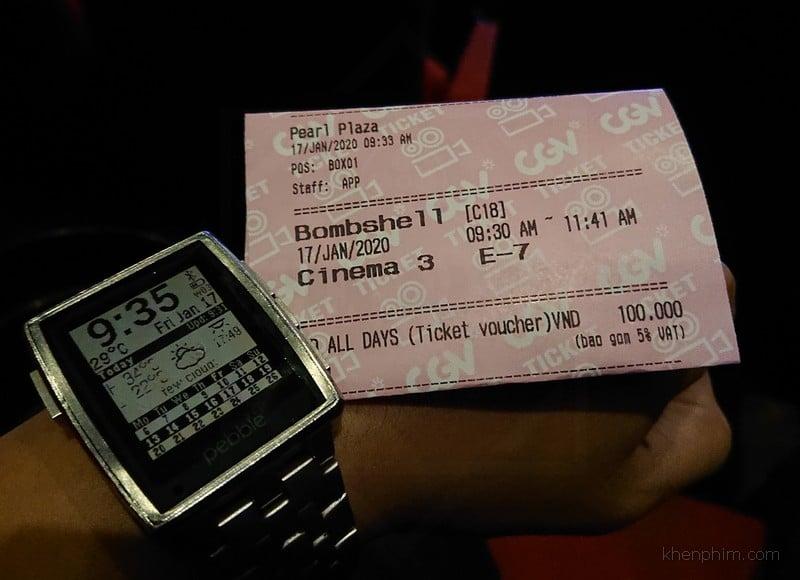 Vé xem phim Bombshell