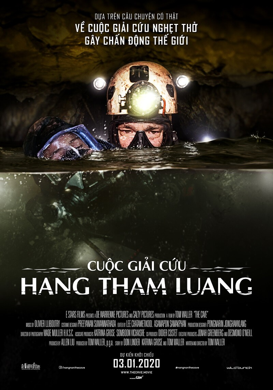 Poster phim The Cave (Cuộc Giải Cứu Hang Tham Luang)