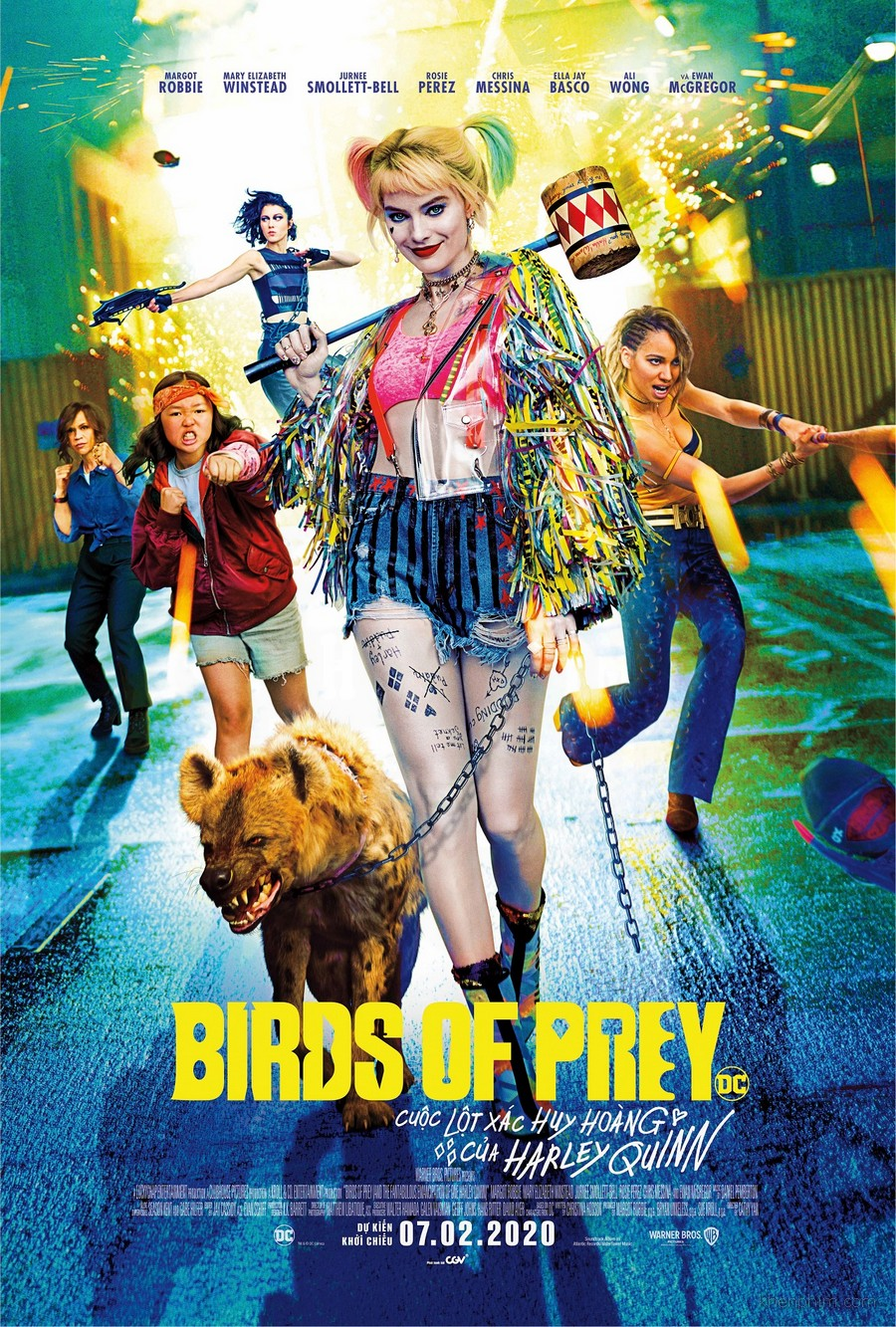 Poster phim Birds of Prey