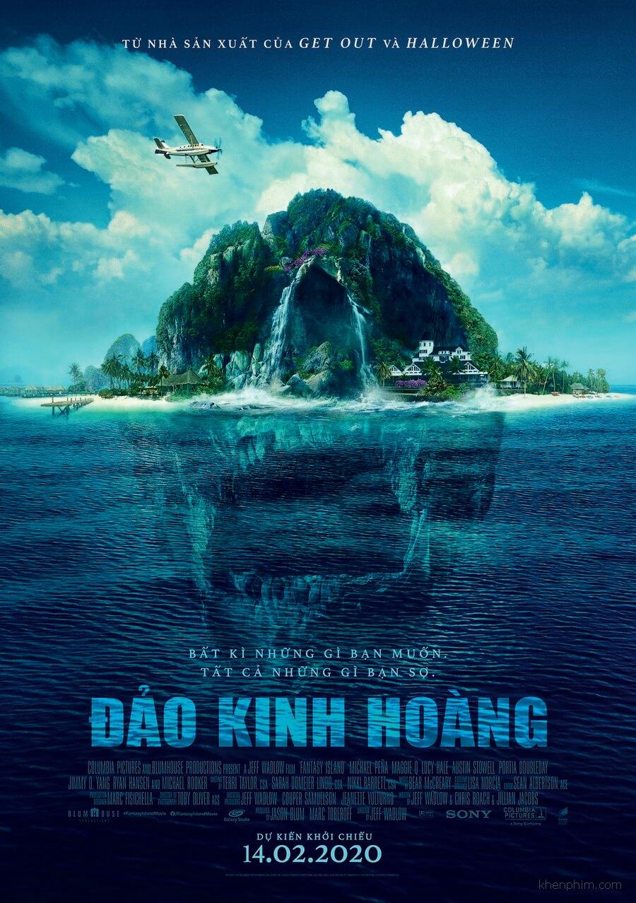 Poster phim Fantasy Island (Đảo Kinh Hoàng)