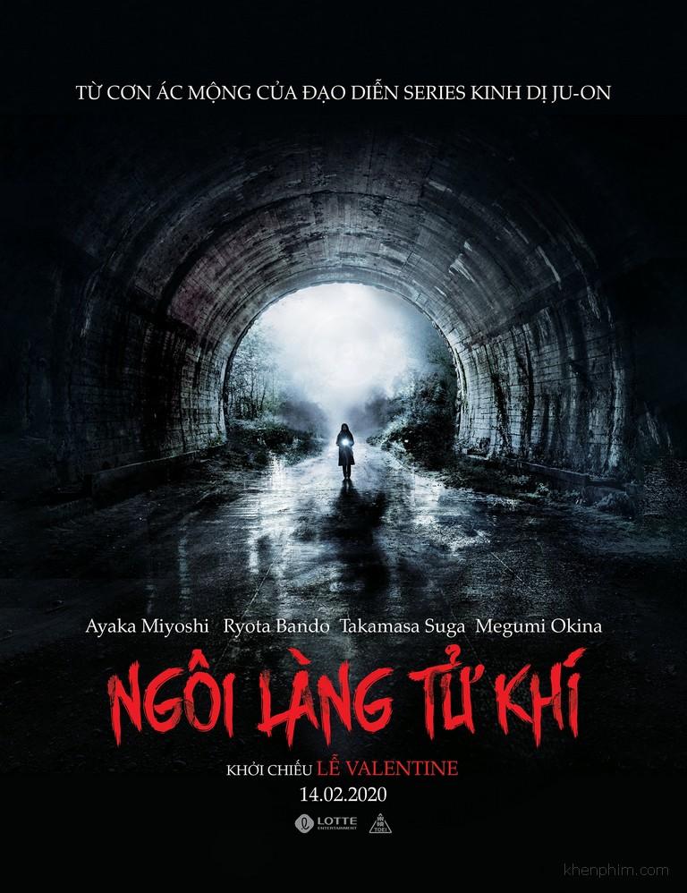 Poster phim kinh dị Ngôi Làng Tử Khí