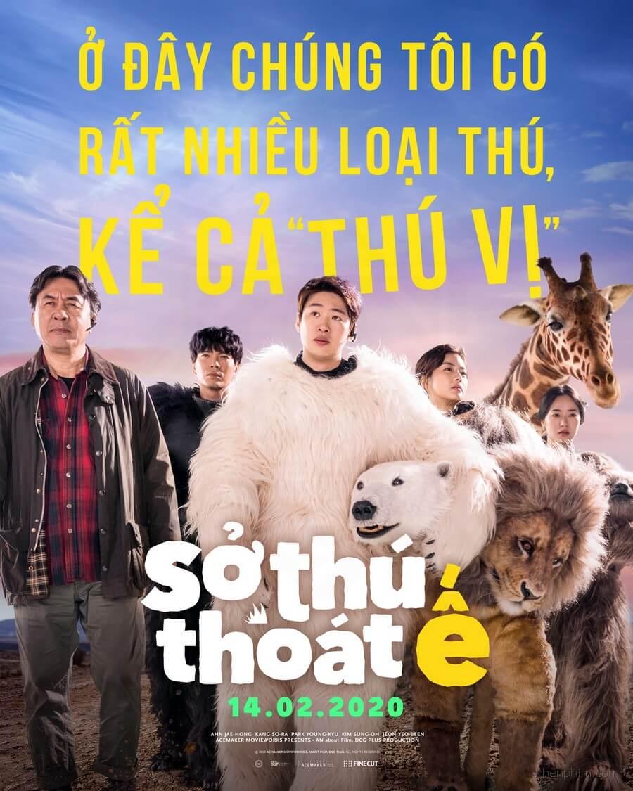 Poster Sở Thú Thoát Ế