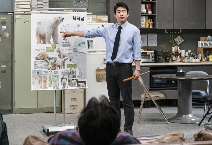 Giám đốc Kang tìm cách vực dậy sở thú
