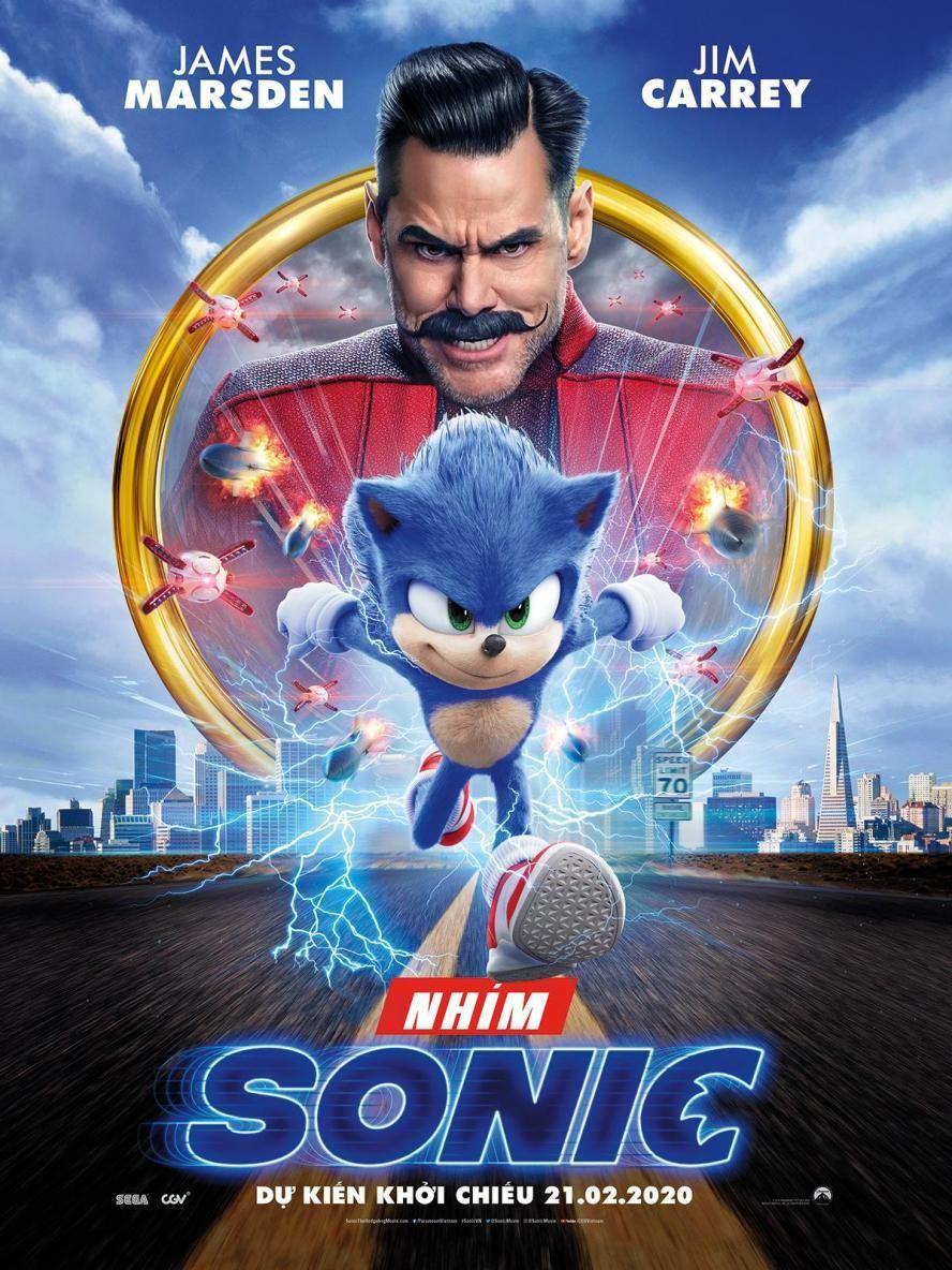 Poster phim Nhím Sonic
