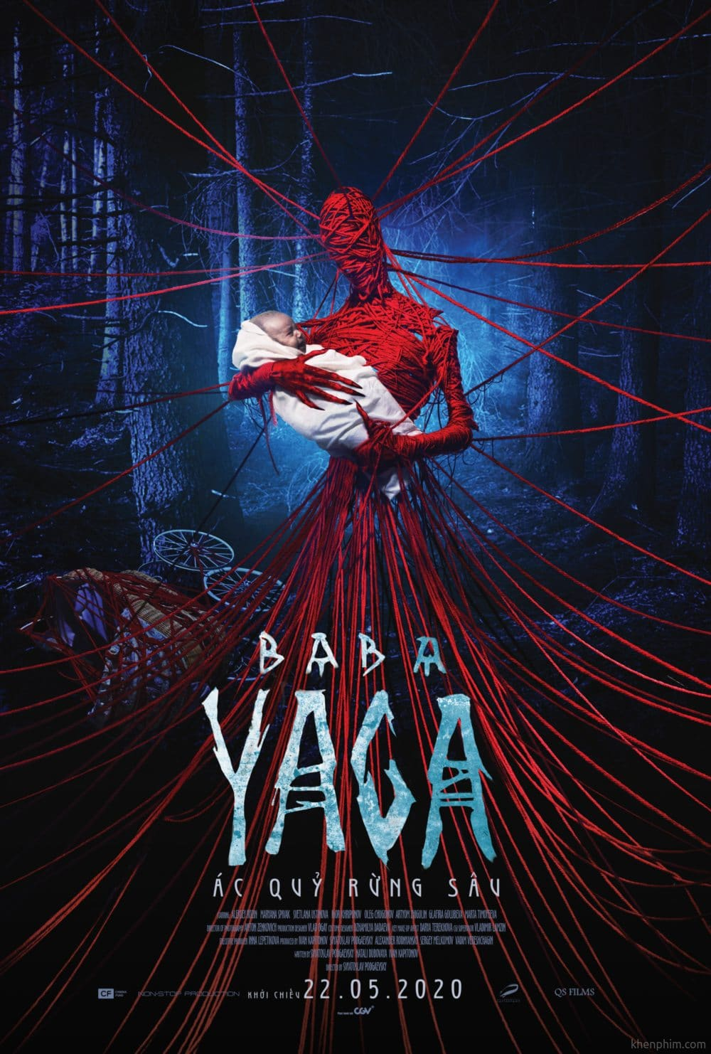 Poster phim Baba Yaga: Ác Quỷ Rừng Sâu