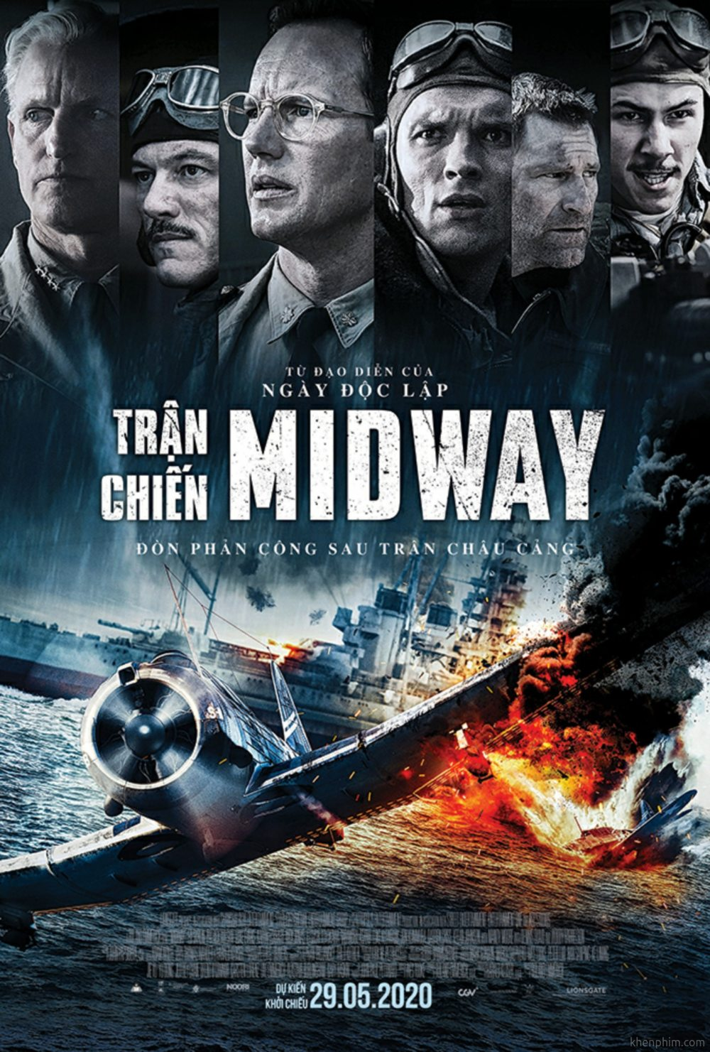 Poster phim Trận Chiến Midway