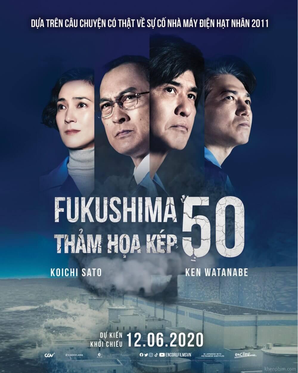 Poster phim Fukushima 50: Thảm Họa Kép