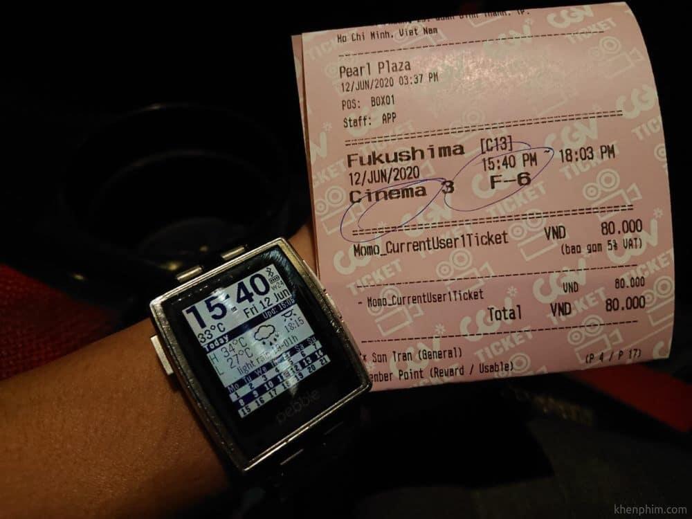 Vé xem phim Fukushima 50