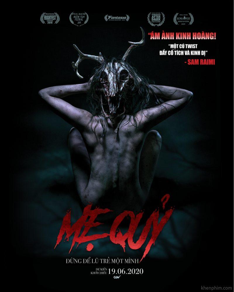 Poster phim kinh dị Mẹ Quỷ