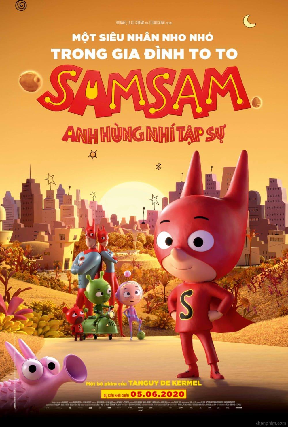 Poster phim Samsam: Siêu Nhân Tập Sự