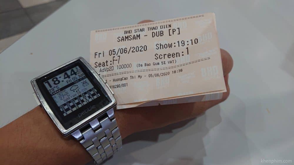 Vé xem phim Samsam Siêu nhân tập sự