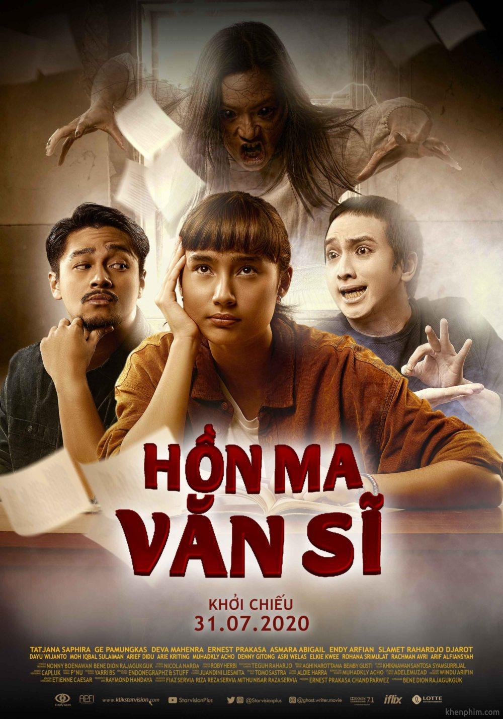 Poster phim Hồn Ma Văn Sĩ (Ghost Writer)