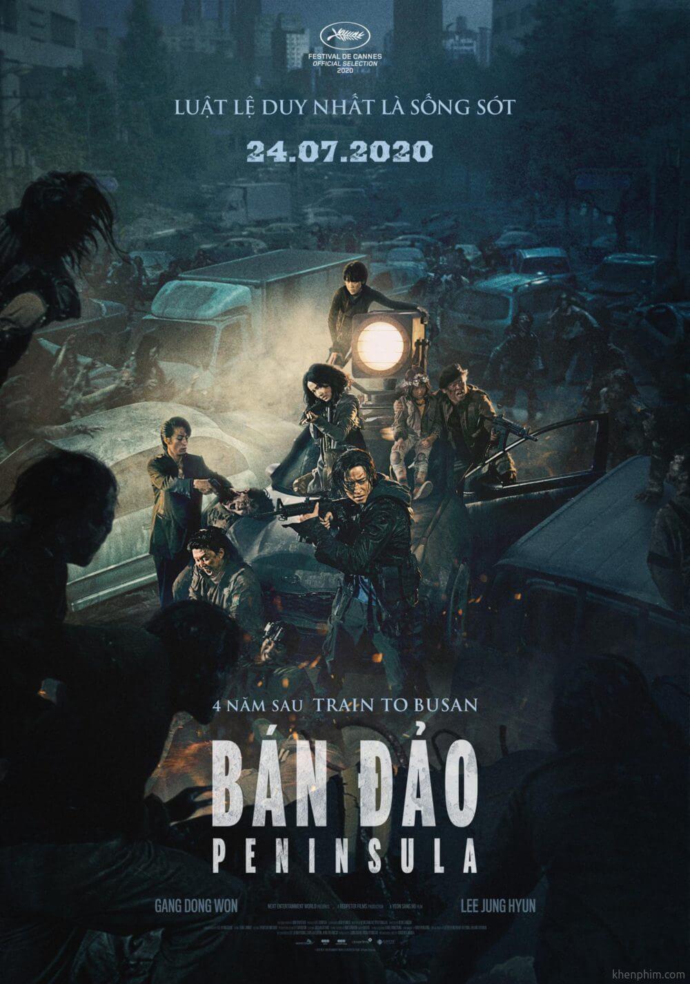Poster phim Bán Đảo (Train to Busan 2/Peninsula)