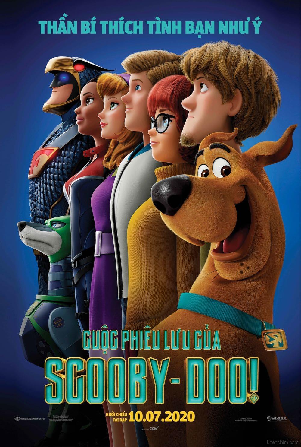 Poster phim Scoob! (Cuộc Phiêu Lưu Của Scooby-doo)