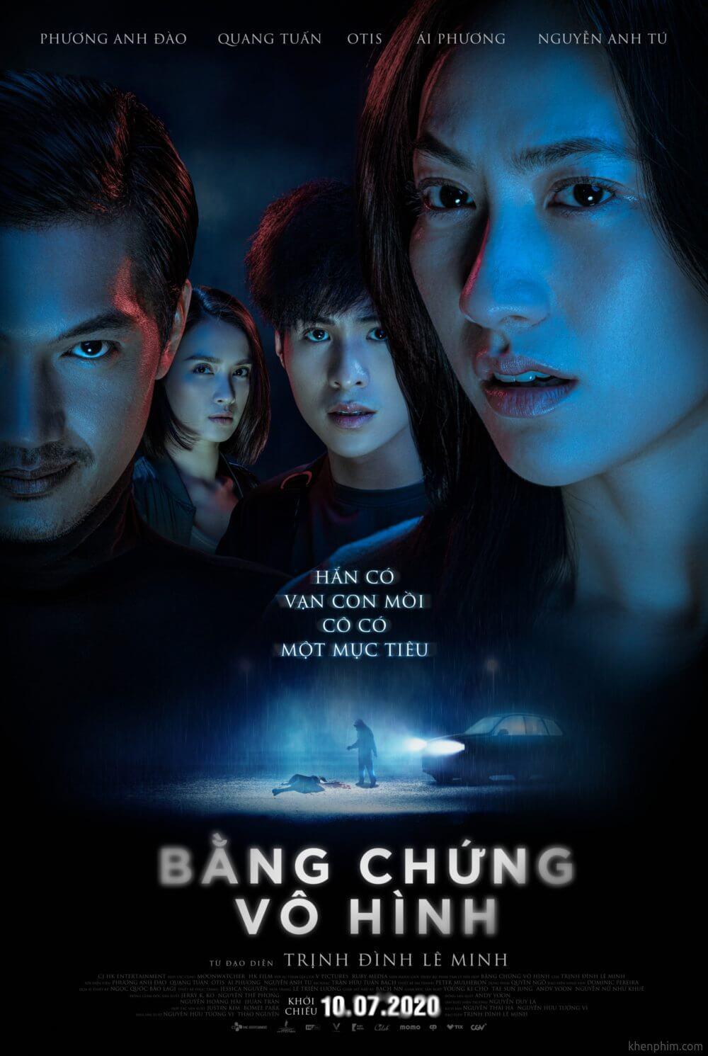 Poster phim Bằng Chứng Vô Hình
