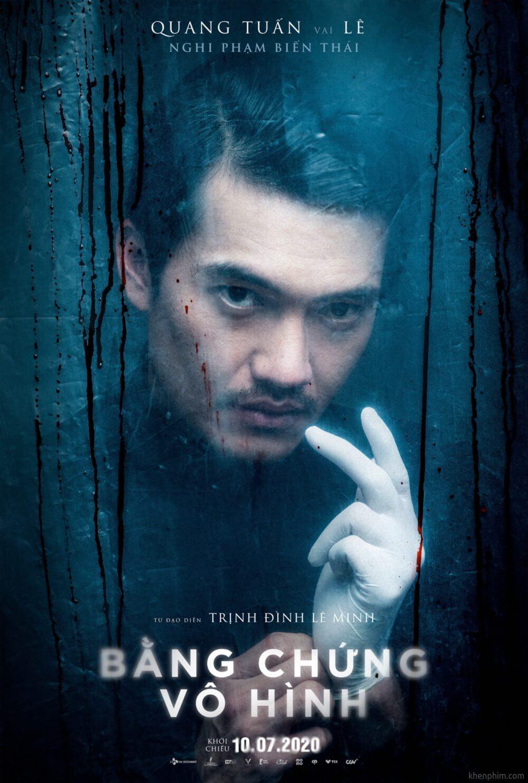 Quang Tuấn vào vai Lê - một gã biến thái - Bằng Chứng Vô Hình