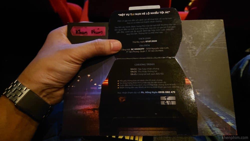 Vé xem phim Bằng Chứng Vô Hình
