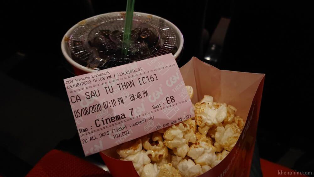 Vé xem phim Cá Sấu Tử Thần
