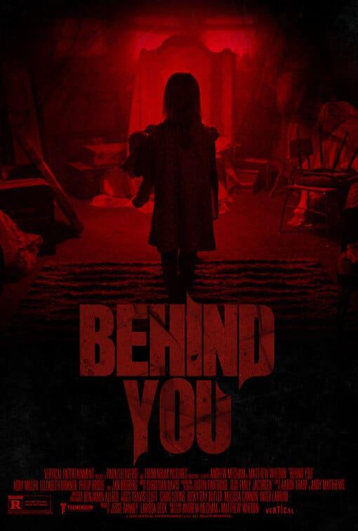 Poster tiếng Anh của phim Hầm Quỷ (Behind You)