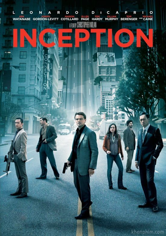 Poster phim Inception