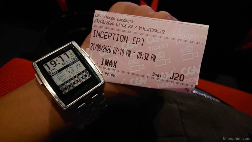 Vé xem phim Inception