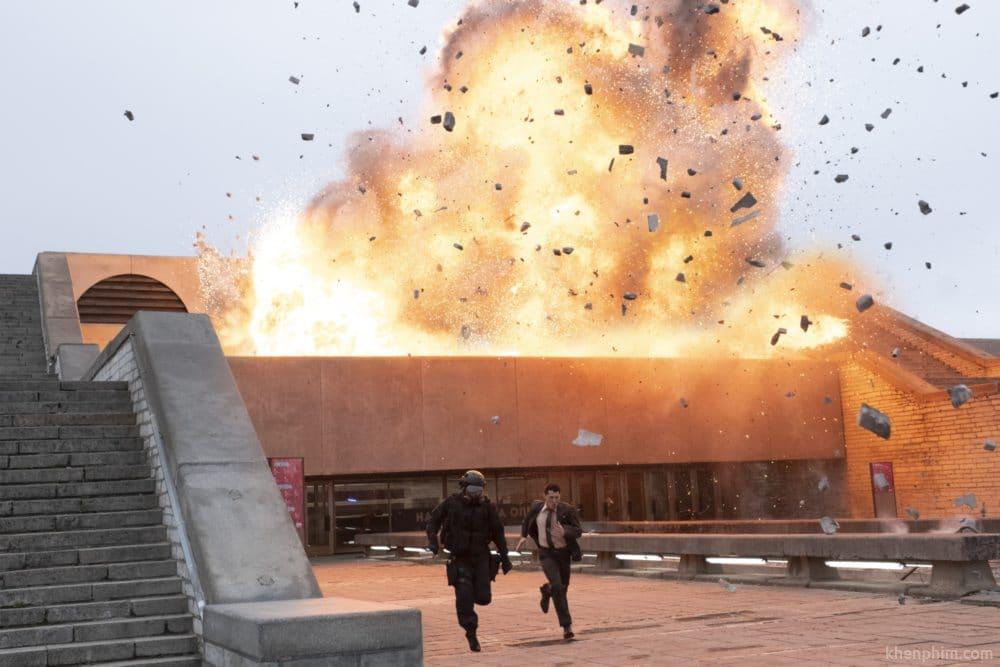 Hiệu ứng hình ảnh vẫn là thế mạnh trong các phim của Nolan