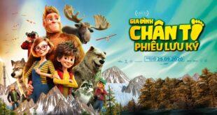 Banner review phim Gia Đình Chân To Phiêu Lưu Ký