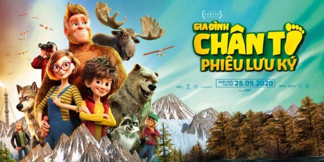Review phim Gia Đình Chân To Phiêu Lưu Ký (Bigfoot Family): Cười xỉu luôn!