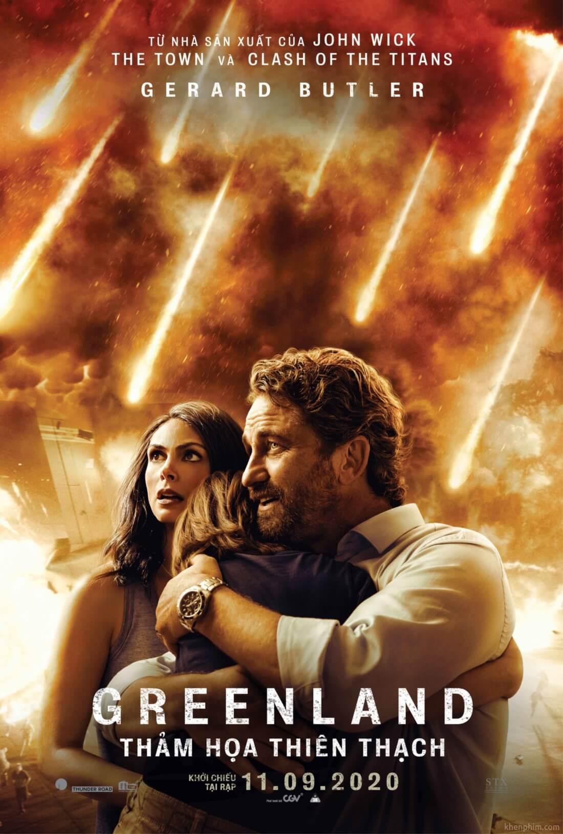 Poster phim Greenland