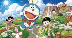 Banner bài review Phim Doraemon: Nobita Và Những Bạn Khủng Long Mới