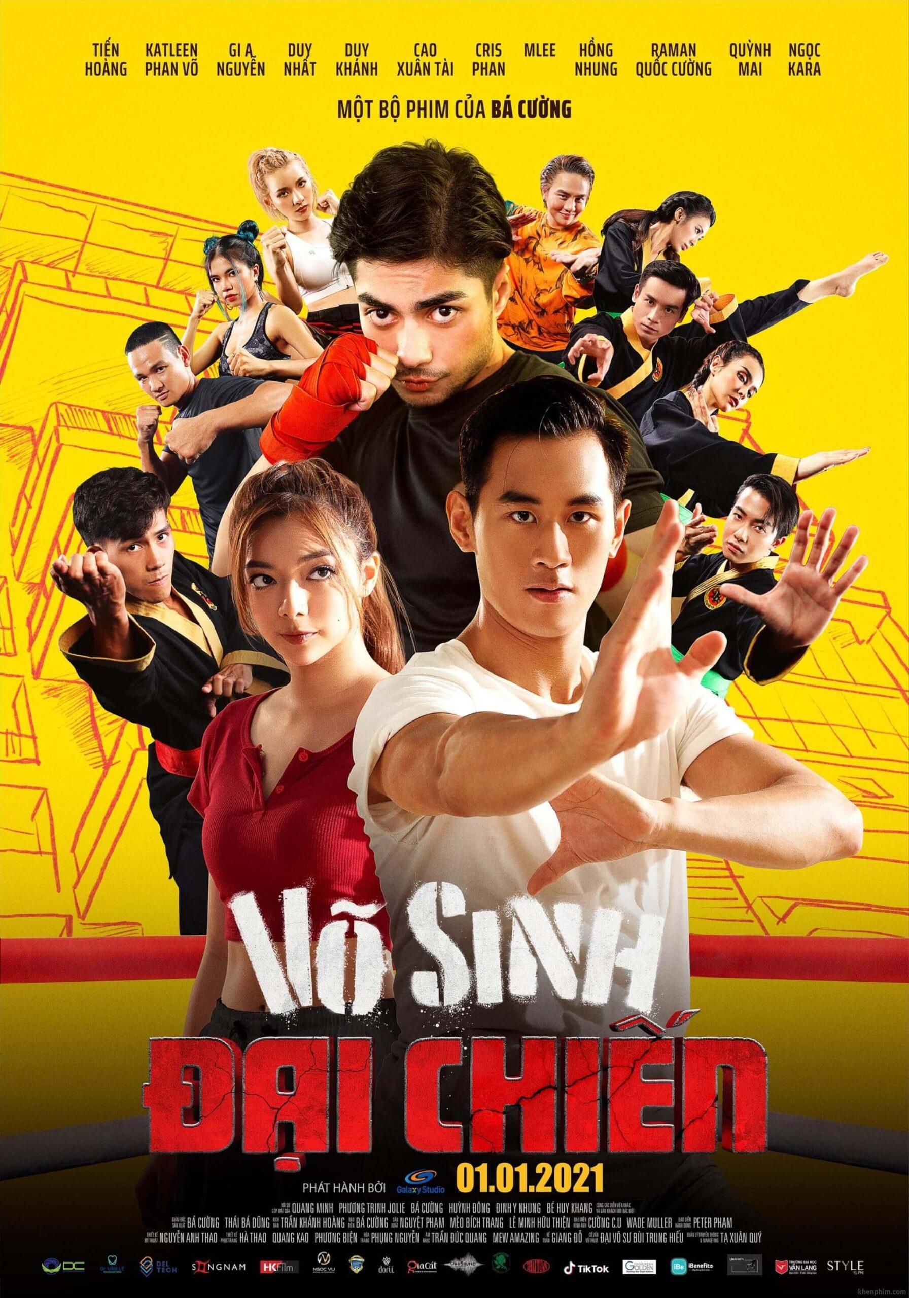 Poster phim Võ Sinh Đại Chiến