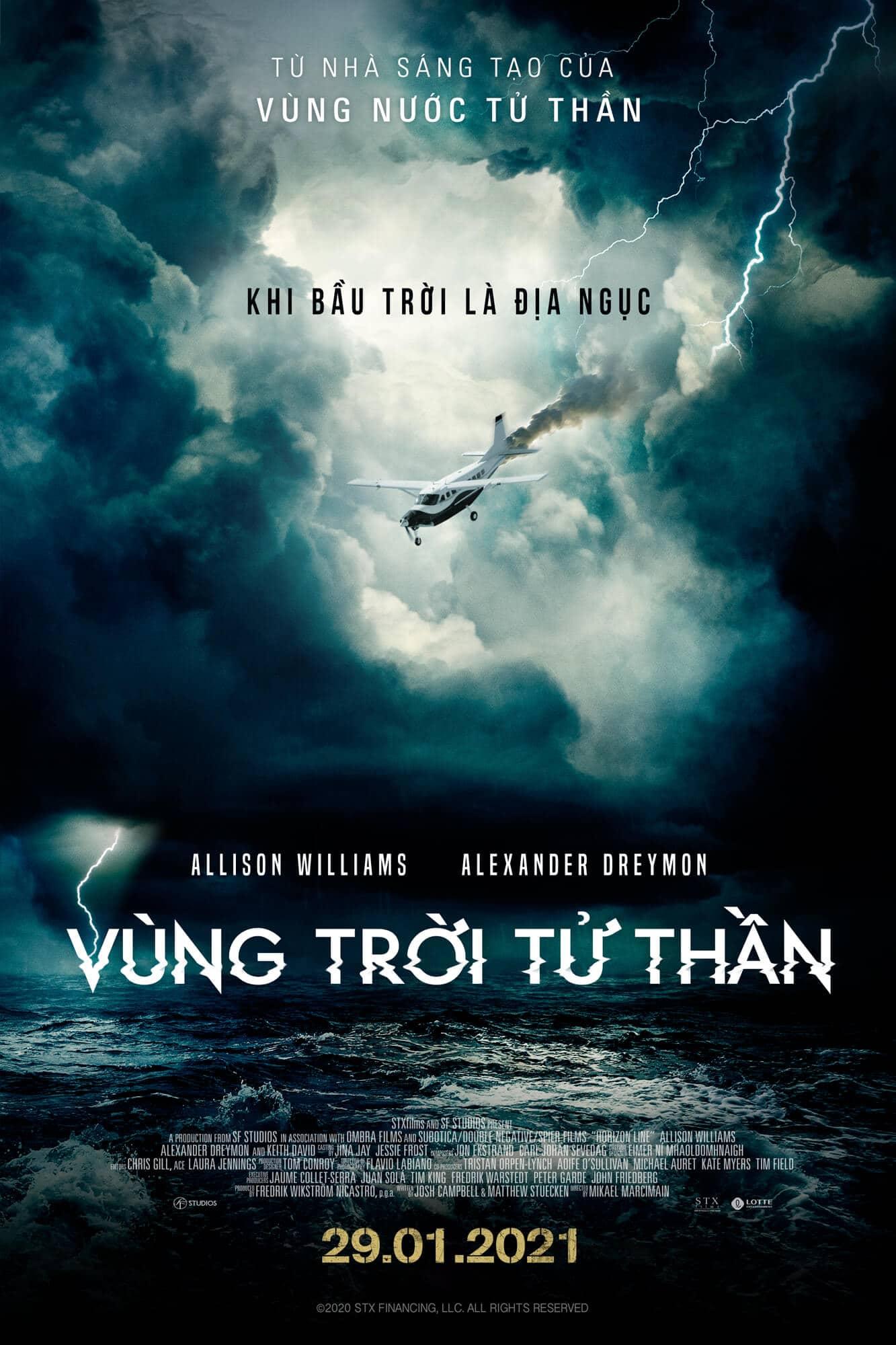 Poster phim Horizon Line (Vùng Trời Tử Thần)