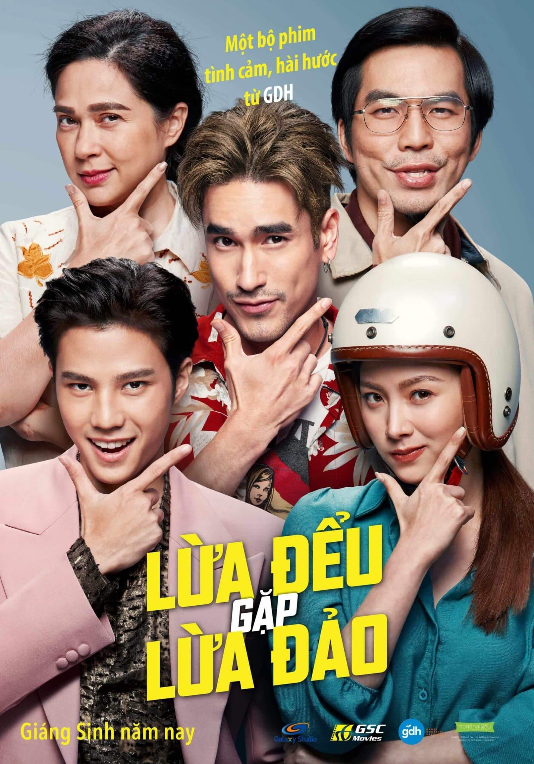 Poster phim The Con Heartis (Lừa Đểu Gặp Lừa Đảo)
