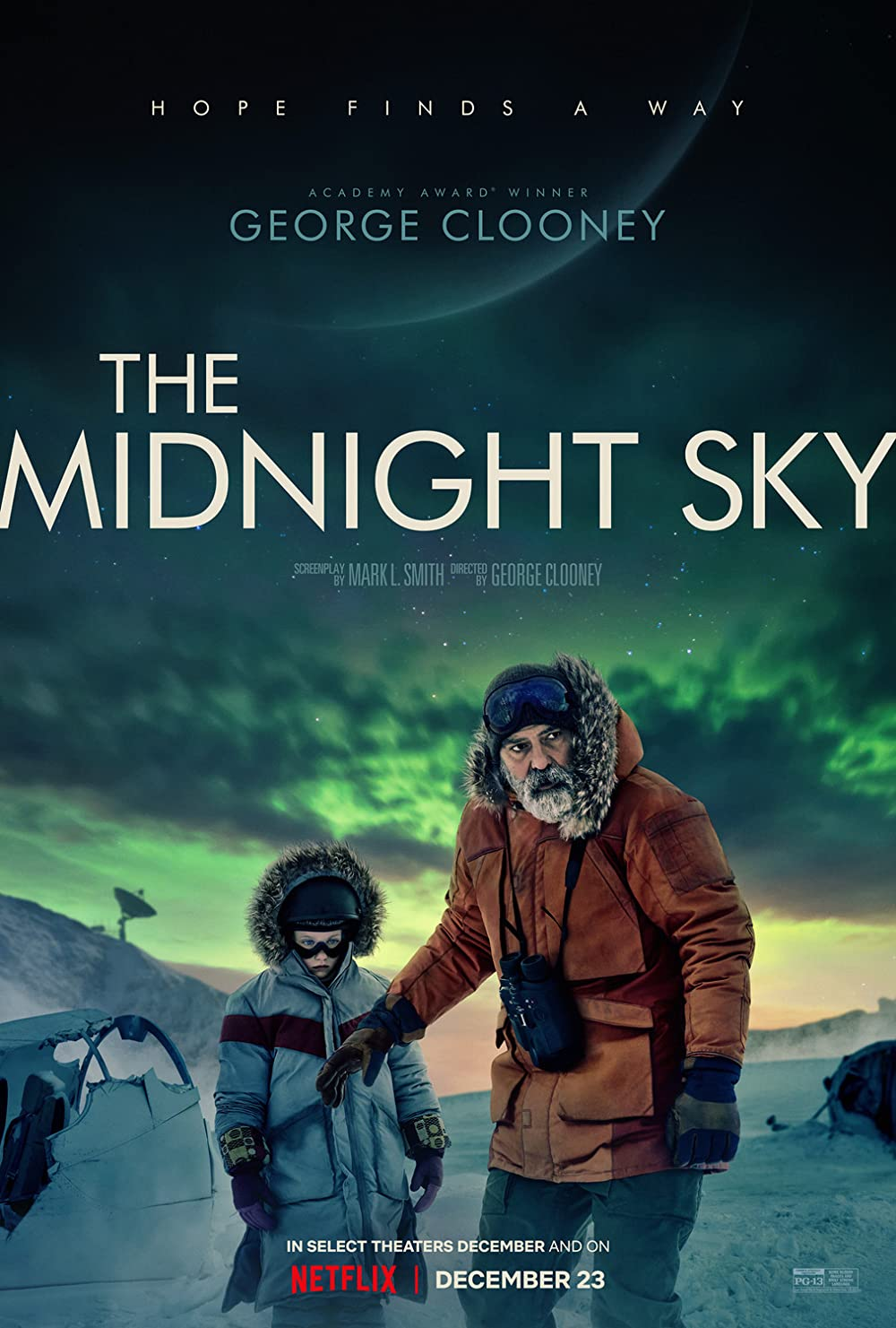 Poster phim The Midnight Sky (Lấp Lánh Trời Đêm)