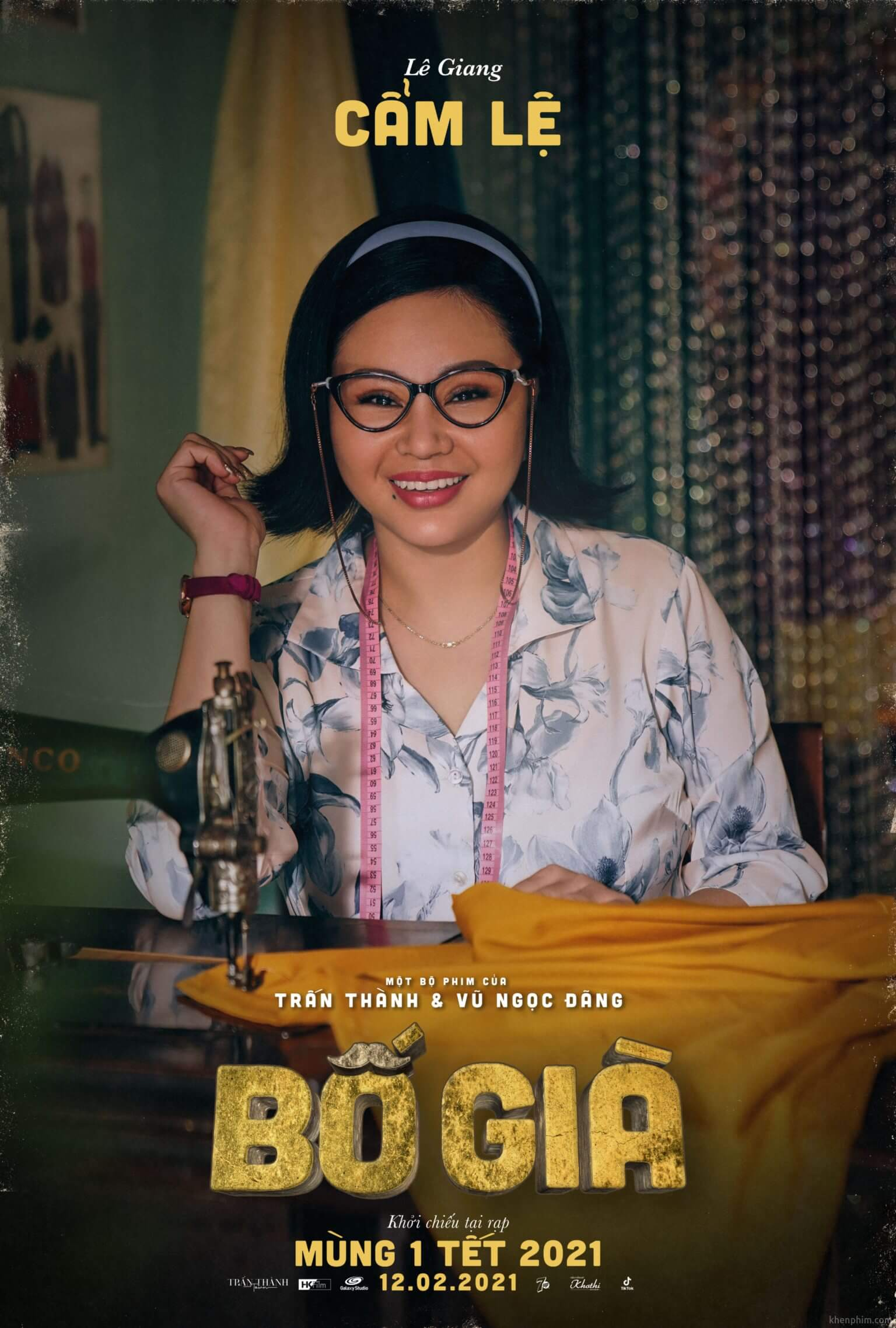 Poster nhân vật phim Bố Già
