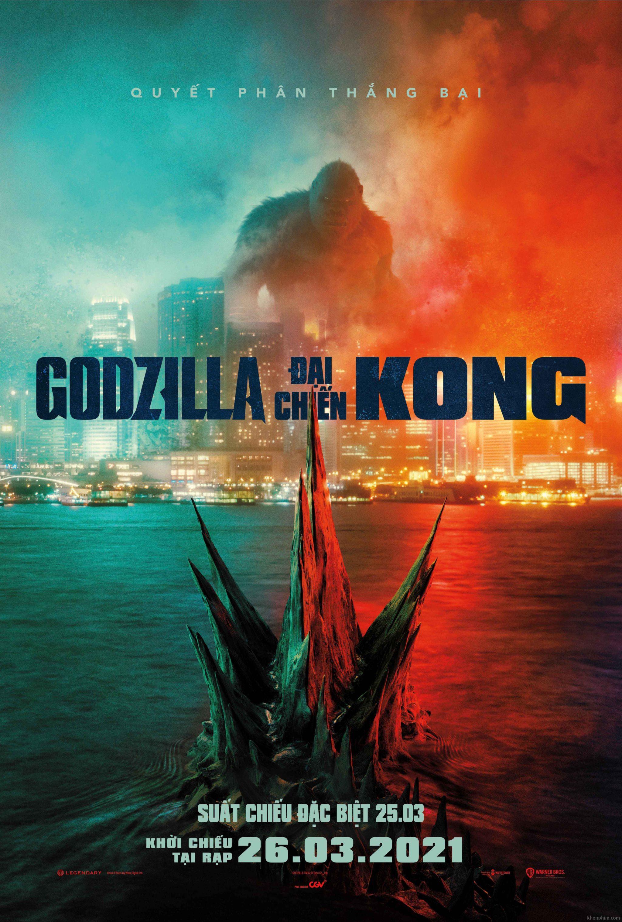 Poster phim Godzilla vs. Kong