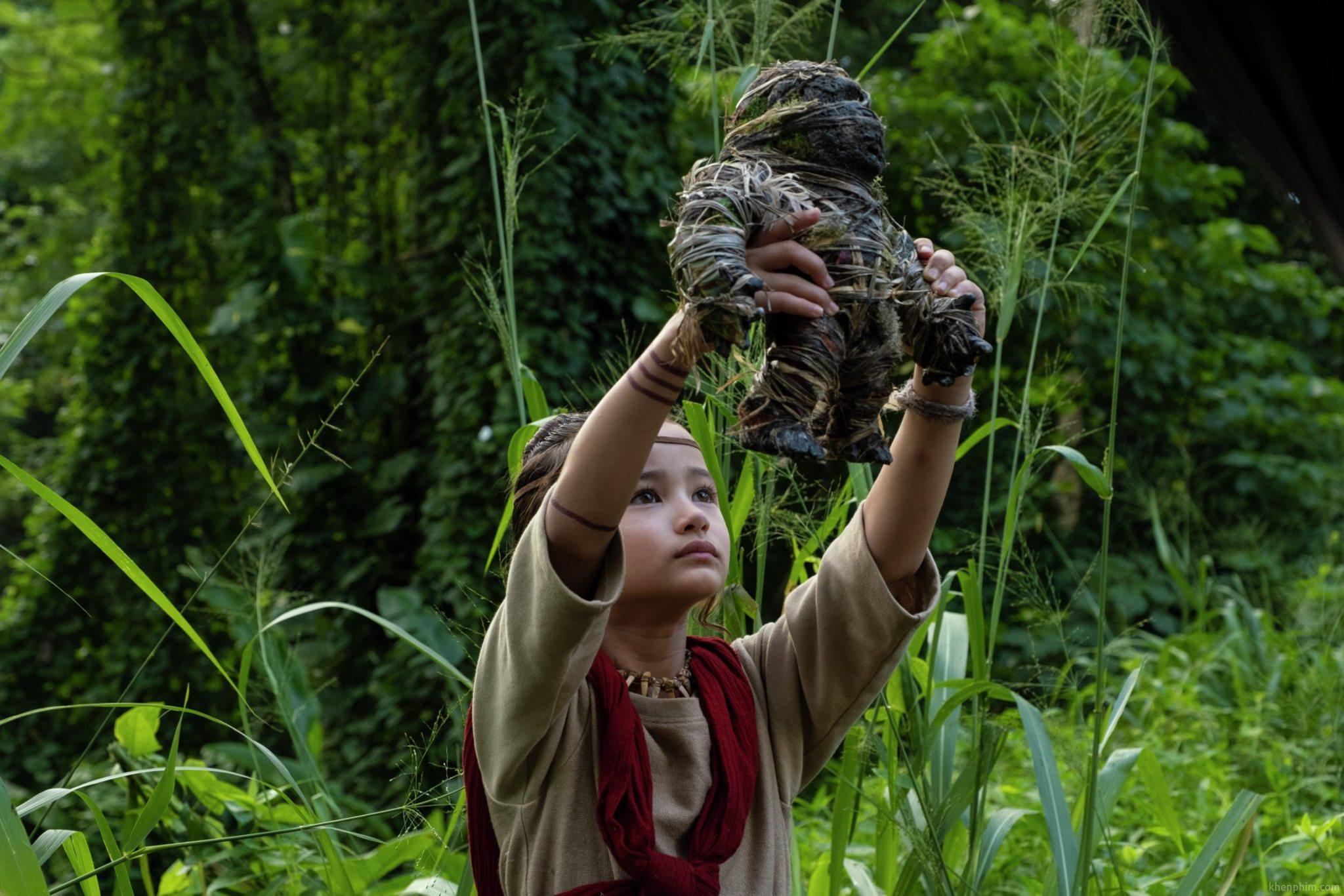 Nhân vật Jia - người có khả năng giao tiếp với Kong