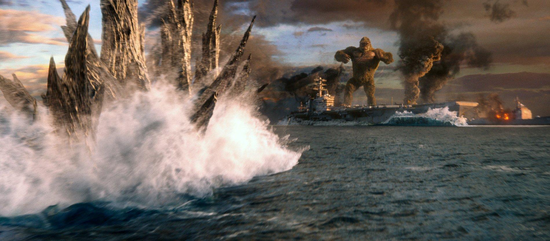 Các cảnh đại chiến giữa Kong và Godzilla đều được làm kỹ xảo rất đẹp