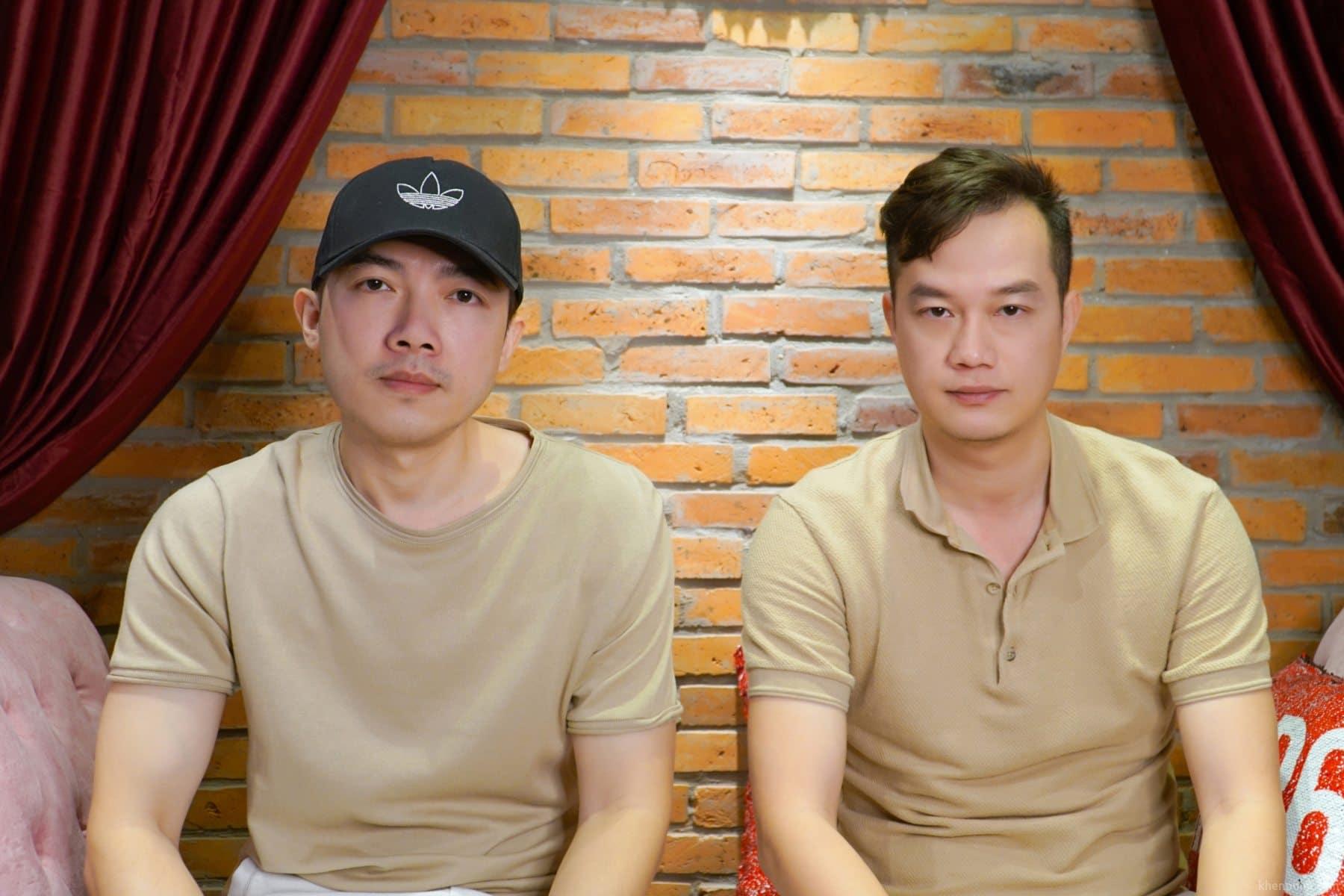Đạo diễn Nam Cito (bên trái) và Bảo Nhân