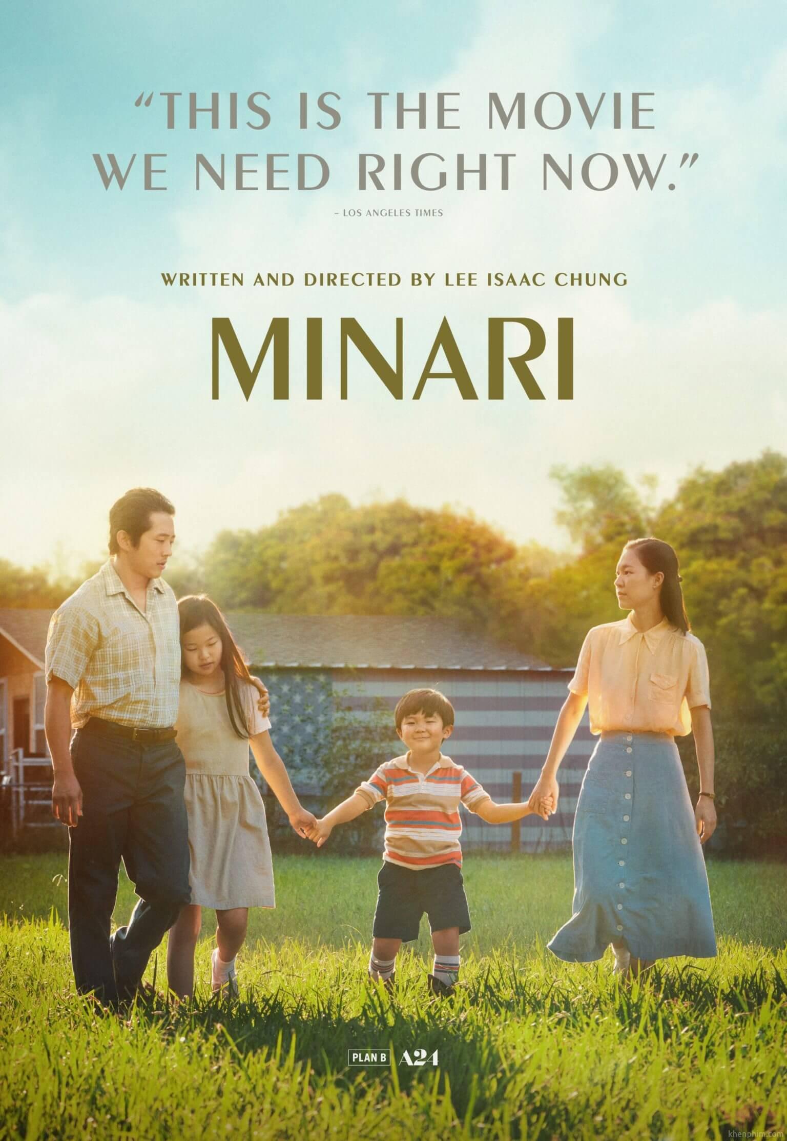 Poster phim MINARI (Khát Vọng Đổi Đời)
