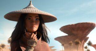 Banner bài review phim Raya và Rồng Thần Cuối Cùng