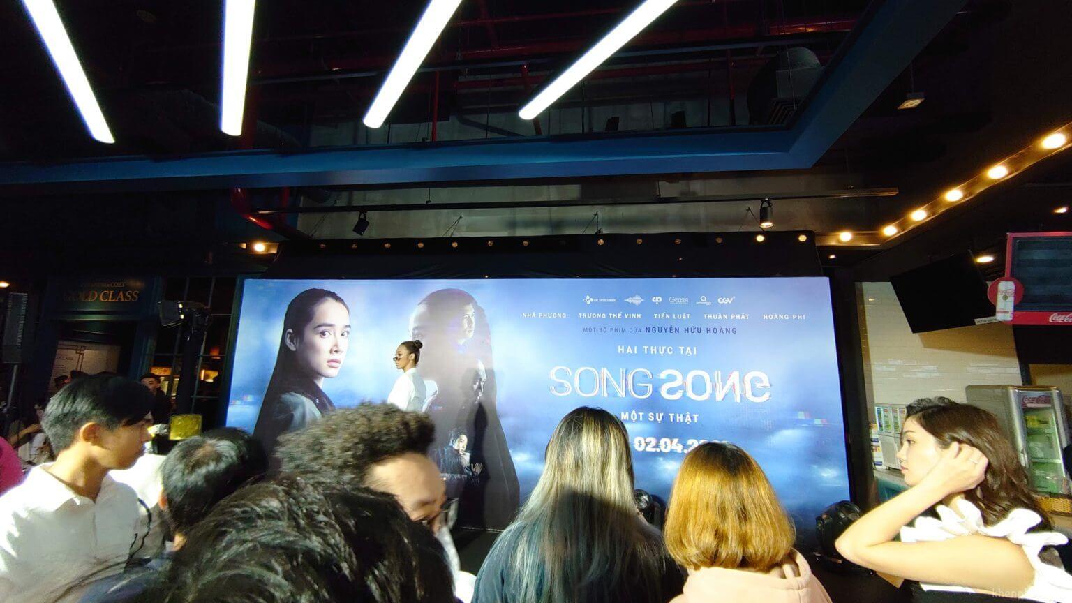 Hình ảnh tại buổi họp báo phim Song Song