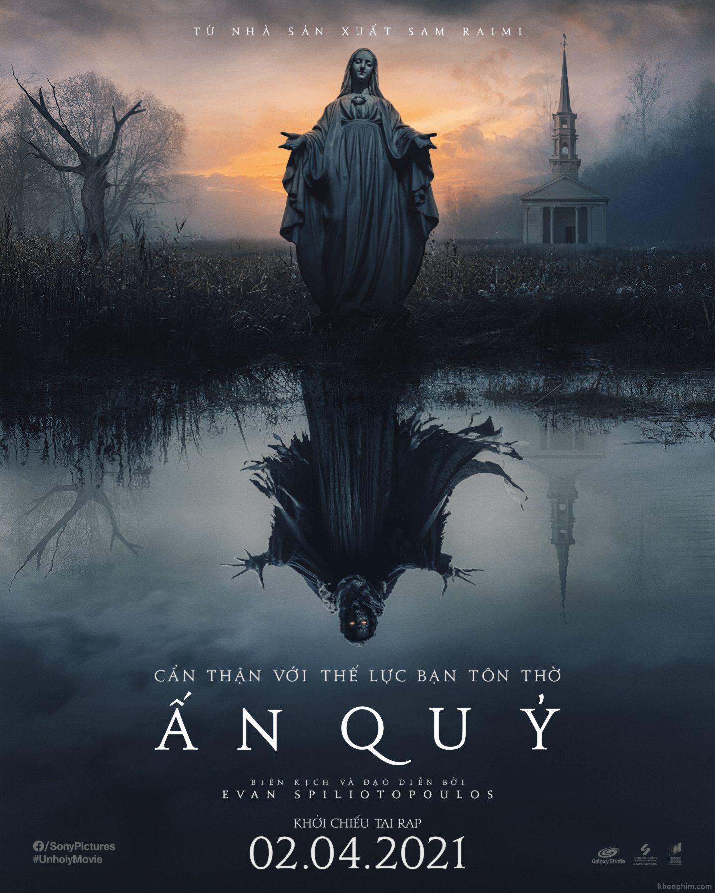 Poster phim Ấn Quỷ (The Unholy)