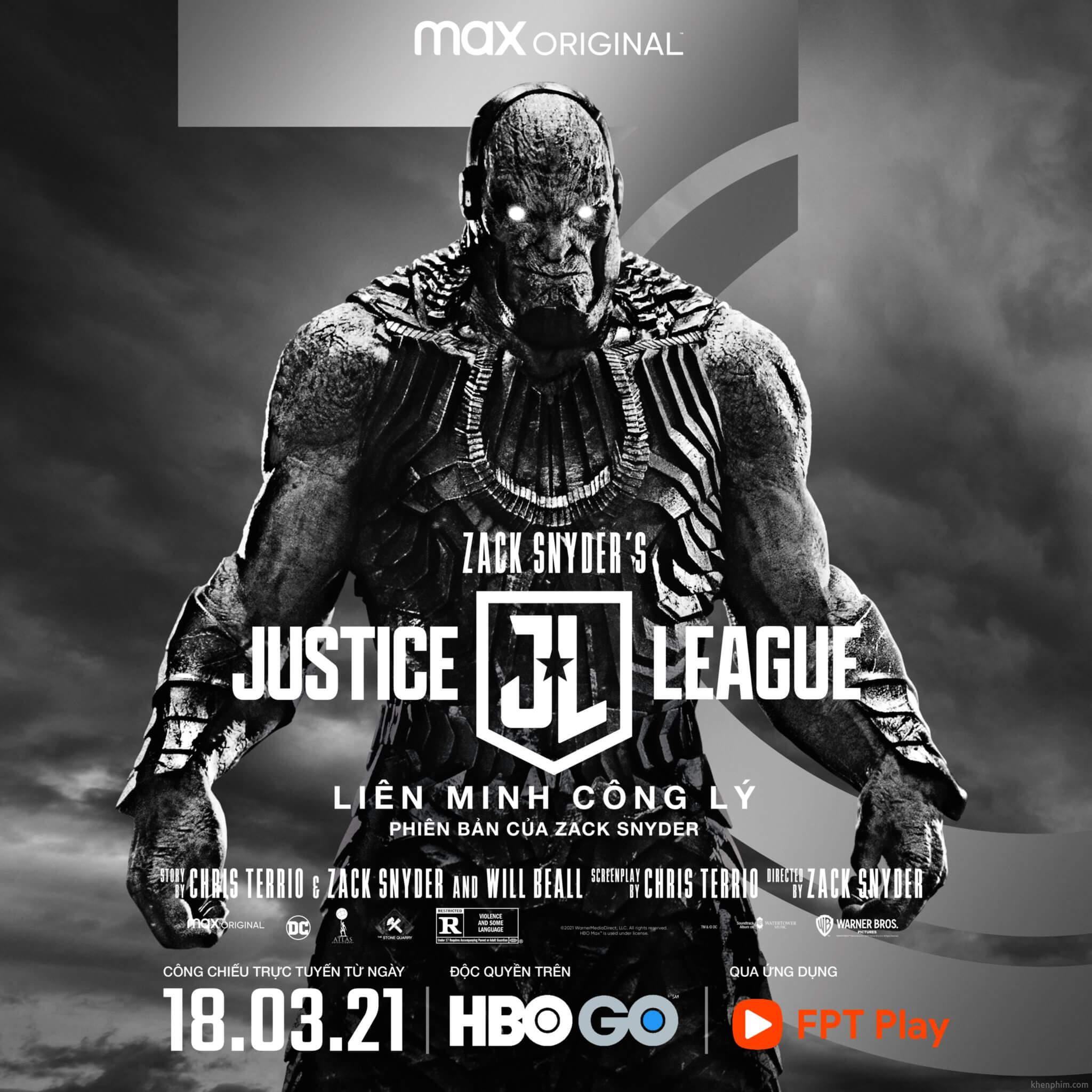 Poster nhân vật trong phim Zack Snyder's Justice League - Darkreid